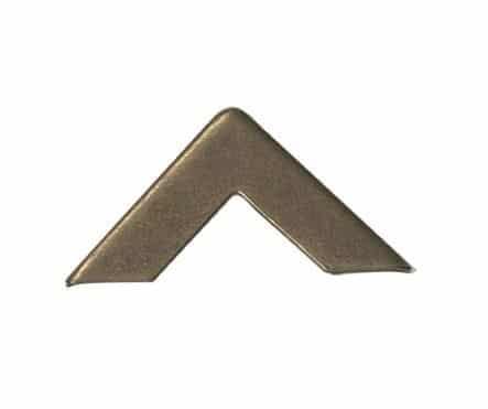 """Coins métalliques simples 16 pièces """"Bronze"""""""