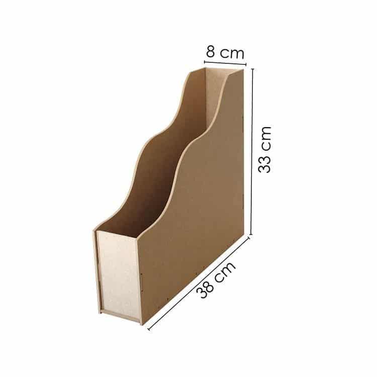 Porte documents MDF 30X30 cm