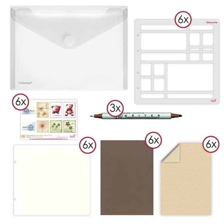 kit équipement atelier découverte page 25/25 cm