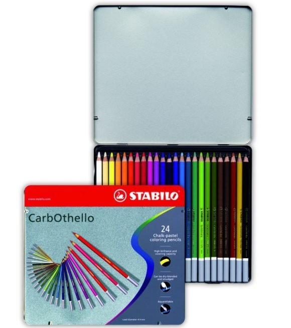 Coffret crayons-craie 24 couleurs