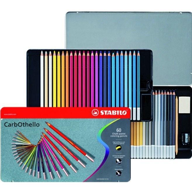 Coffret crayons-craie 60 couleurs
