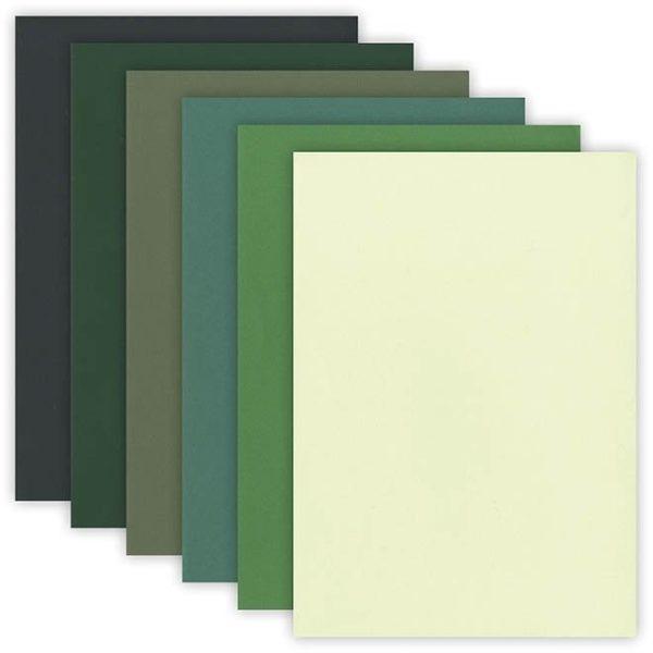 """Papier Caméléon """"Vert"""""""
