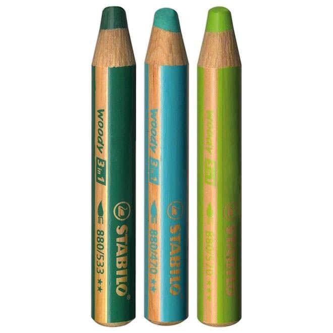 """CRA 305 Crayons Woody """"Vert"""""""