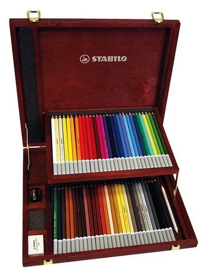 Coffret 60 couleurs crayons-craie