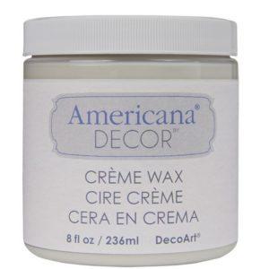 "Peinture ""Cire crème blanc"""
