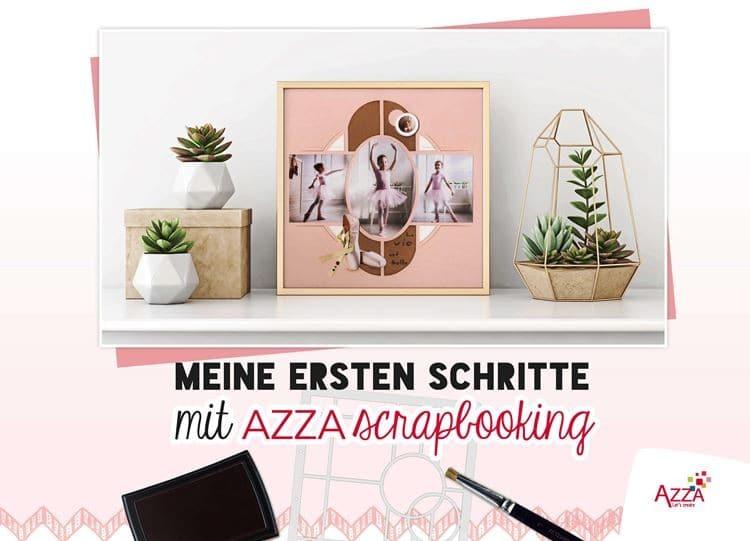 ALI 632 AZZA Buch 'Meine ersten Schritte im Scrapbooking'