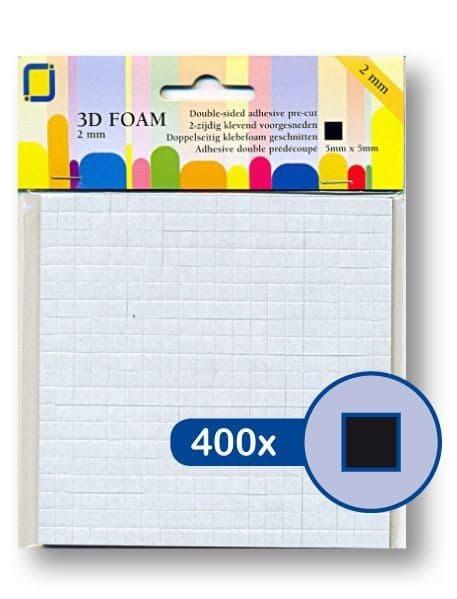 ACC 102 Mousse 3D (petit) 400 pcs - noir