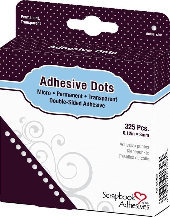 ADH 131 Pastilles de colle adhésives 3mm (325 pcs)