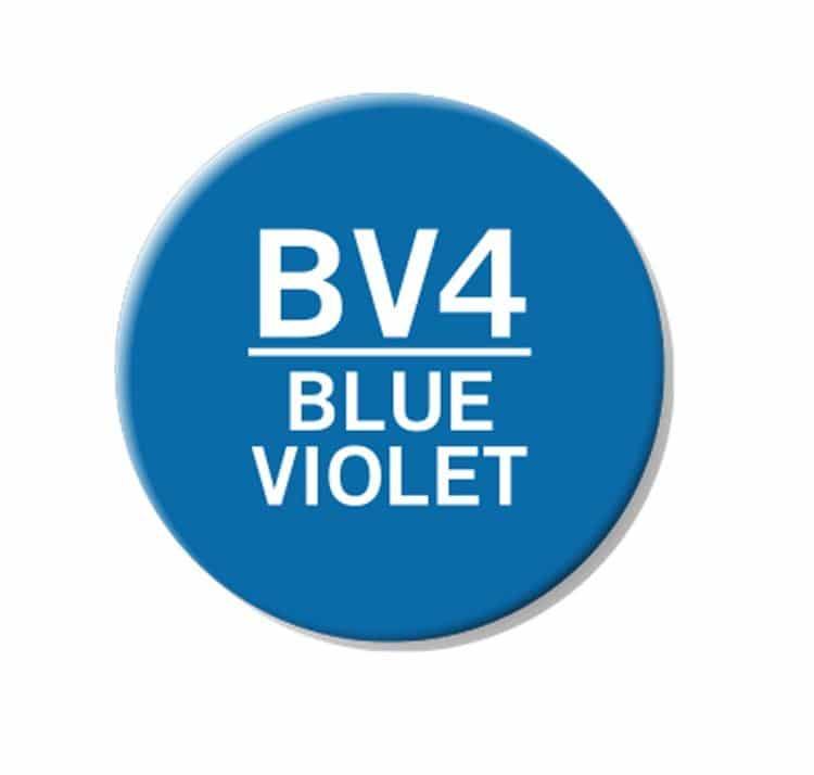 CHAENC 010 Kit de recharge d'encre 25ml 'Blue violet' BV4
