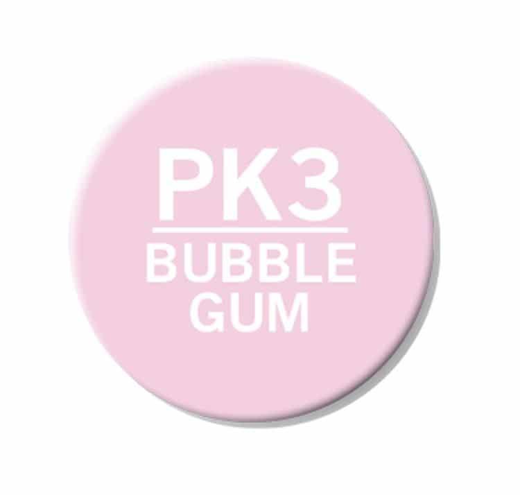 CHAENC 019 Kit de recharge d'encre 25ml 'Bubble gum' PK3