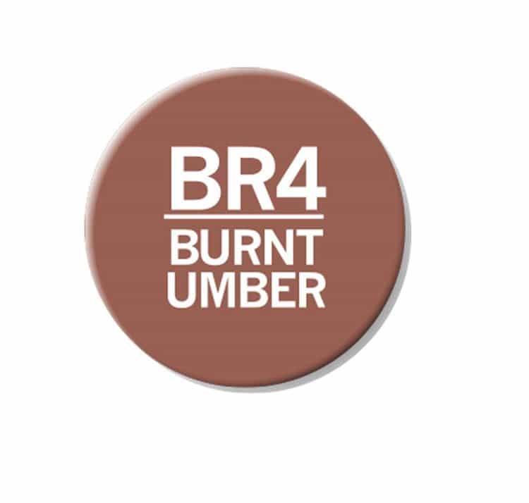 CHAENC 026 Kit de recharge d'encre 25ml 'Burnt umber' BR4