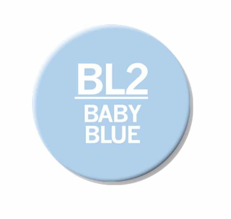 CHAENC 027 Kit de recharge d'encre 25ml 'Baby blue' BL2