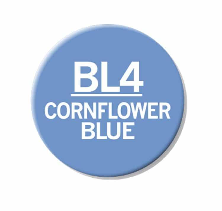 CHAENC 028 Kit de recharge d'encre 25ml 'Cornflower Blue' BL4