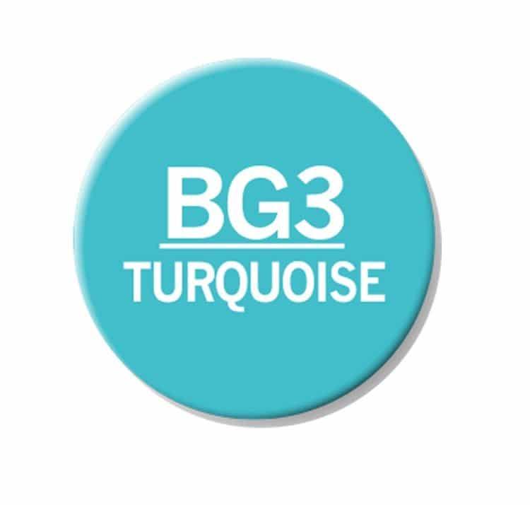 CHAENC 031 Kit de recharge d'encre 25ml 'Turquoise' BG3
