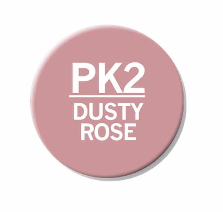 CHAENC 032 Kit de recharge d'encre 25ml 'Dusty rose' PK2