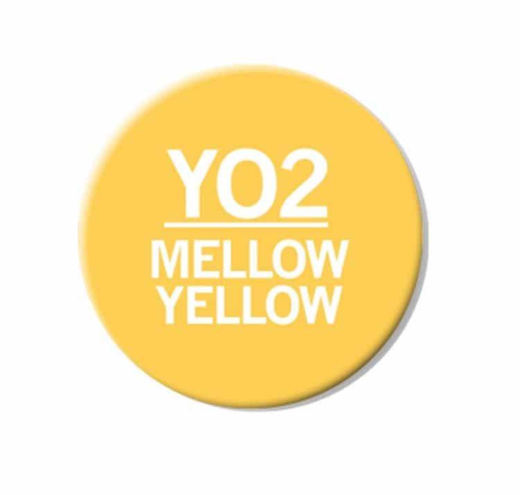 CHAENC 037 Kit de recharge d'encre 25ml 'Mellow yellow' YO2