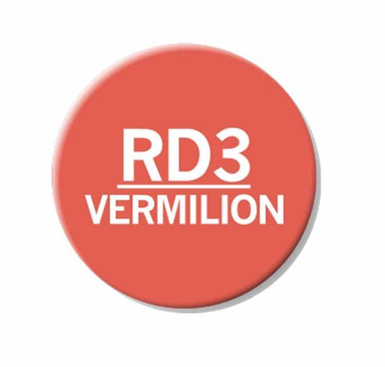 CHAENC 040 Kit de recharge d'encre 25ml 'Vermillion' RD3
