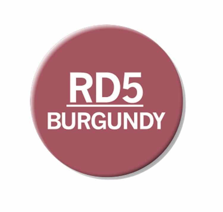 CHAENC 041 Kit de recharge d'encre 25ml 'Burgundy' RD5