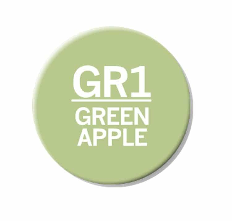 CHAENC 044 Kit de recharge d'encre 25ml 'Green apple' GR1
