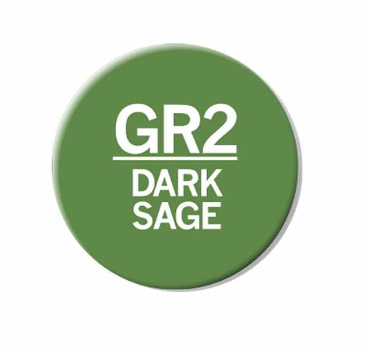 CHAENC 045 Kit de recharge d'encre 25ml 'Dark Sage' GR2