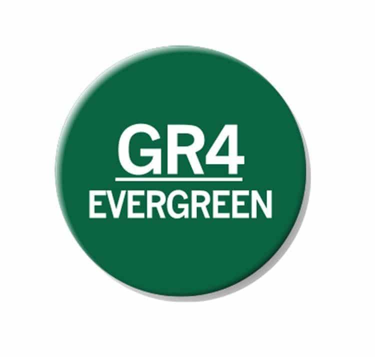 CHAENC 046 Kit de recharge d'encre 25ml 'Evergreen' GR4