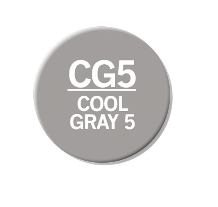 CHAENC 048 Kit de recharge d'encre 25ml 'Cool grey 5' CG5