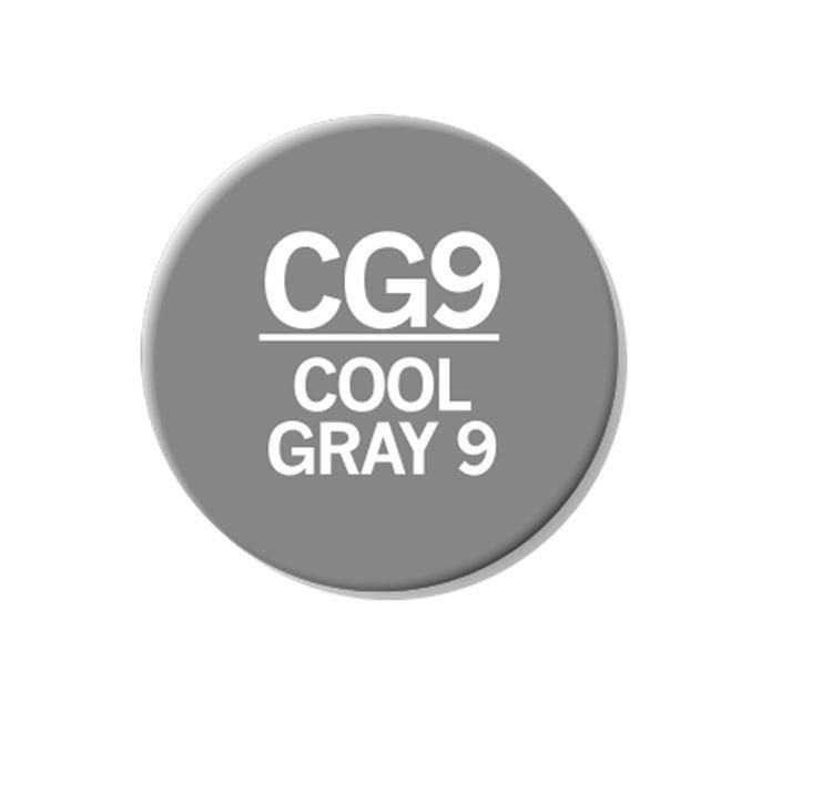 CHAENC 049 Kit de recharge d'encre 25ml 'Cool grey 9' CG9