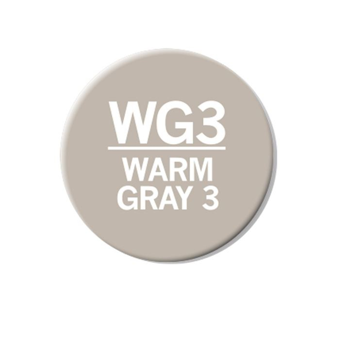 CHAENC 050 Kit de recharge d'encre 25ml 'Warm grey 3' WG3