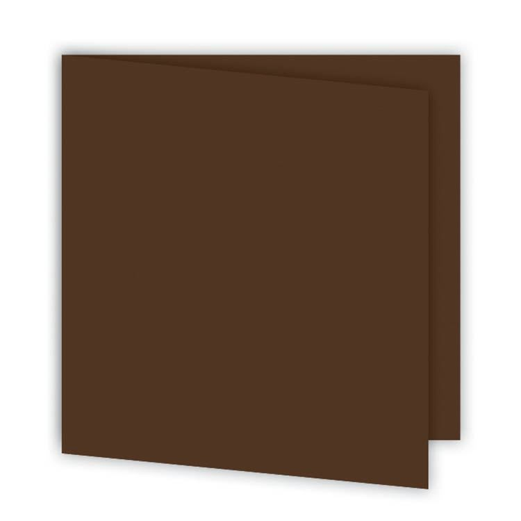 ALB 638 Set de cartes 15x15 'Chocolat' (6p)