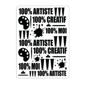 EMB 046 Classeurs de gaufrage 'Art & création'