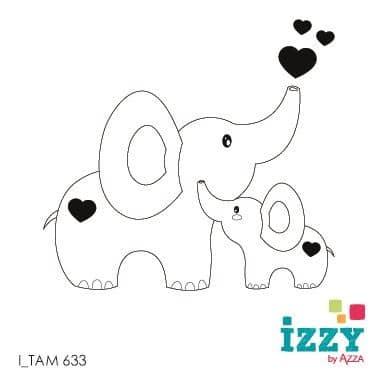 I TAM 633 Micro-tampon 'Bébé éléphant'