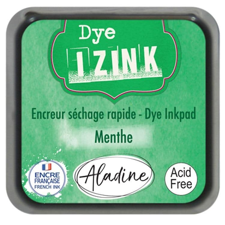 ENC 707 Encreur dye Izink 'Menthe'