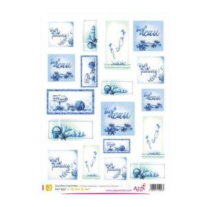 PAP 3007 Saynètes imprimées 'Au bord de mer'