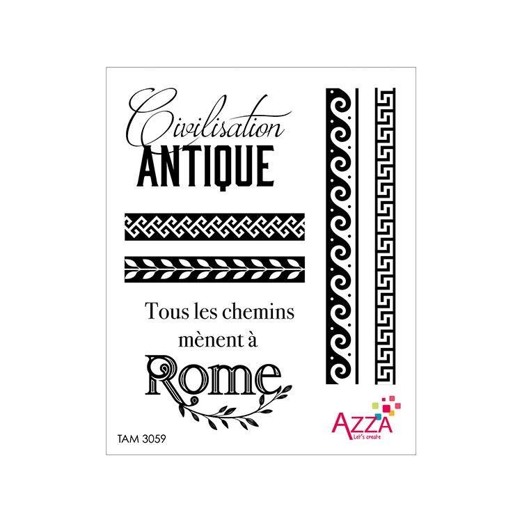 TAM 3059 Tampons rubis 'Civilisation antique'