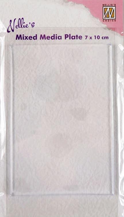 TAM 905 Plaque de Silicone pour tampons 70x100mm