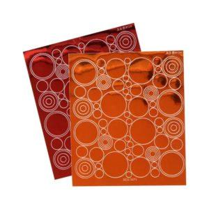 PAP 705 Set de stickers contour 'Ronds' (2)