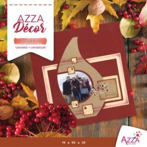 ALI 3017 Livre Azza décor 'Univers'