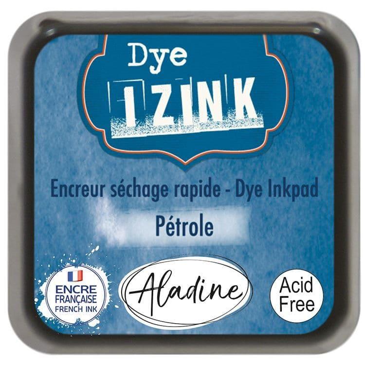 ENC 715 Encreur dye Izink 'Bleu pétrole'