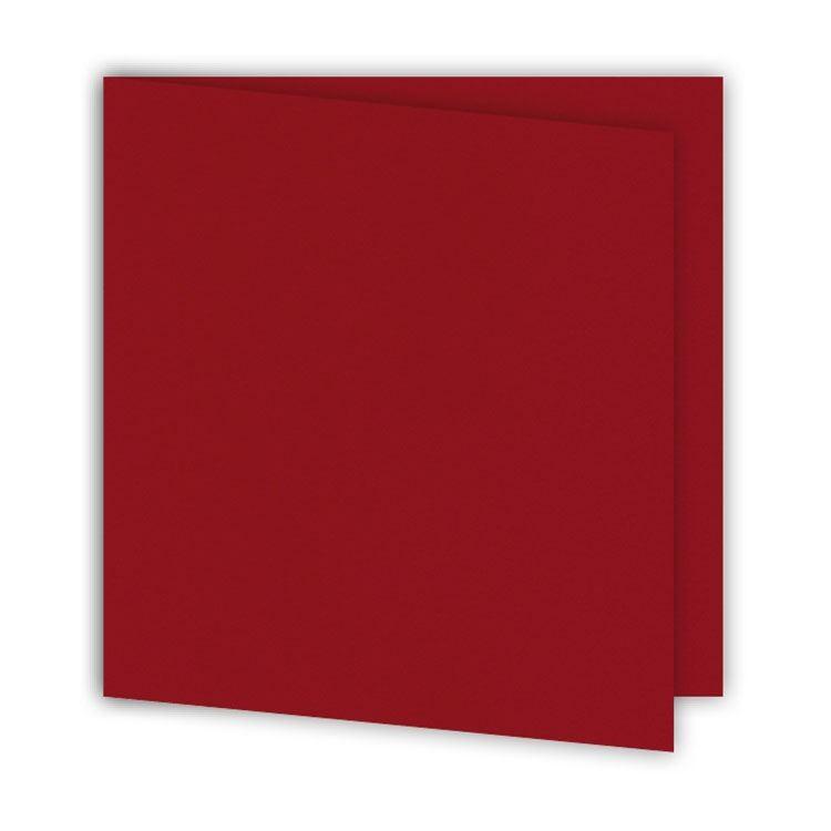 ALB 645 Set de cartes 15 x15 'Cerise' (6 pcs)