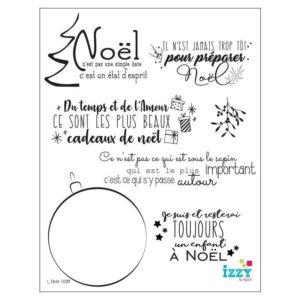 I TAM 1039 Tampons diamant 'Mots de fête'