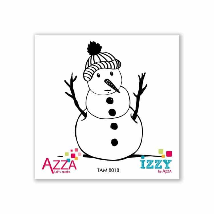 TAM 8018 Micro-tampons 'Bonhomme de neige' (cadeau hôtesse