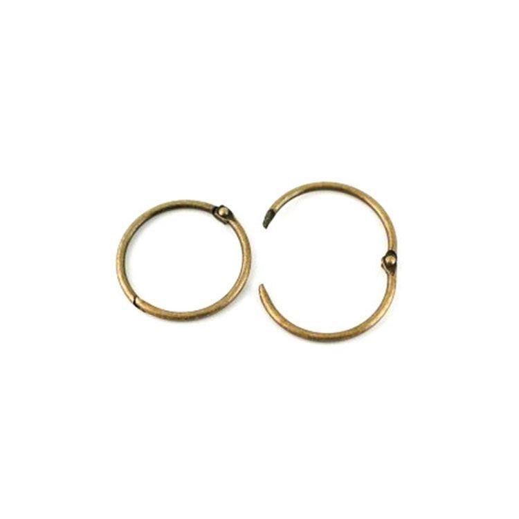 ACC 2116 Anneaux de reliure 3,5cm - bronze (6 pces)