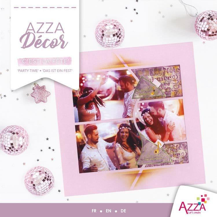ALI 3019 Livre Azza décor 'c'est la fête'