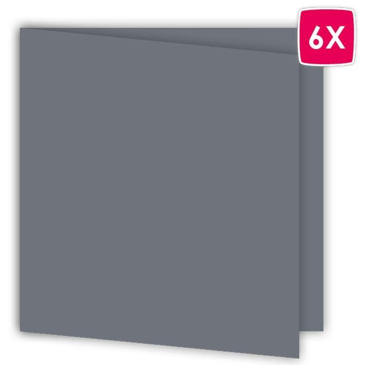 ALB 641 Set de cartes 15 x15 'Dauphin' (6 pcs)