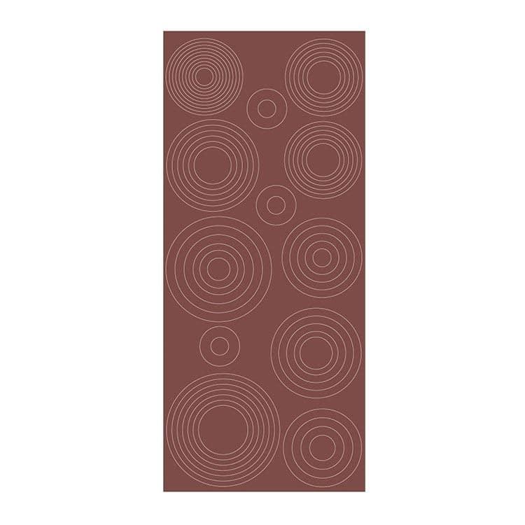 PAP 714 Sticker contour Ronds concentriques - mirror salmo