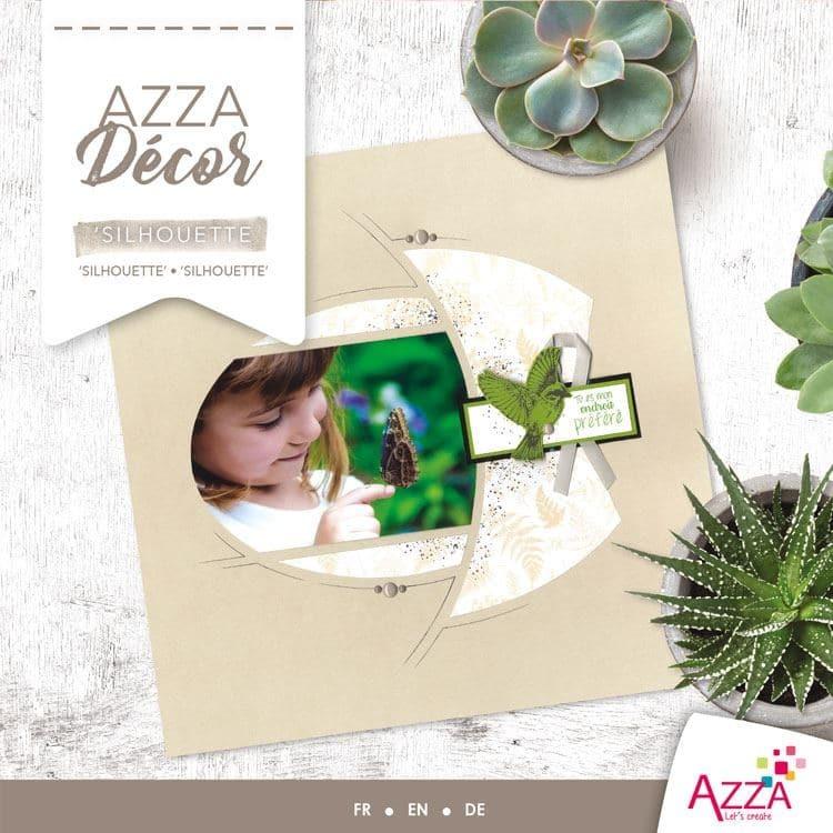 ALI 3021 Livre Azza décor 'Silhouette'