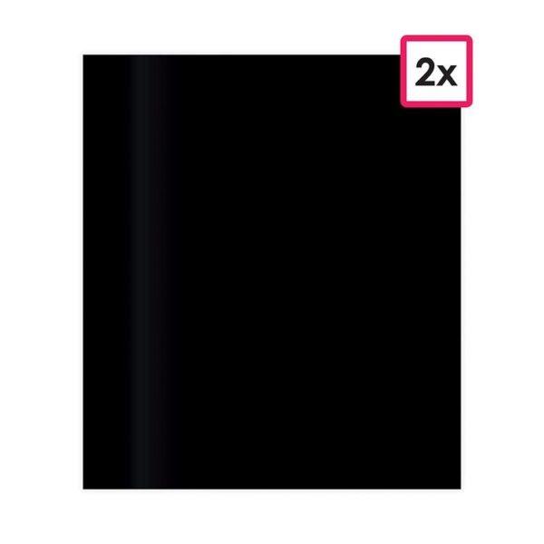 PAP 751 Feuilles autocollantes vinyle 'noir' (2)