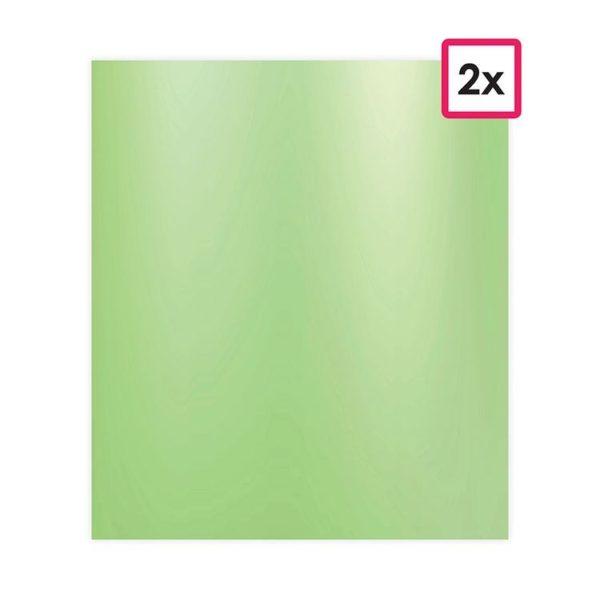 PAP 750 Feuilles autocollantes vinyle 'Vert pomme' (2)