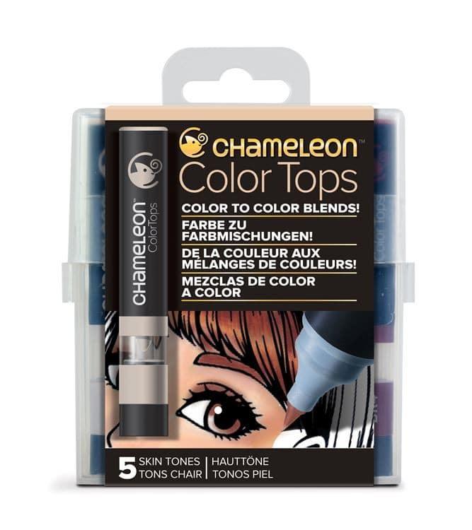 CHA 025 Chameleon - Color tops 'Tons chair' (5pcs)