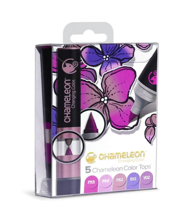 CHA 027 Chameleon - Color tops 'Tons floral (5pcs)